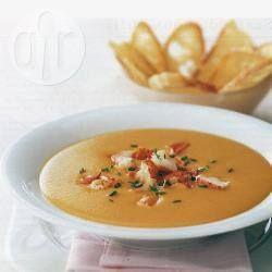 Bisque de lagosta @ allrecipes.com.br