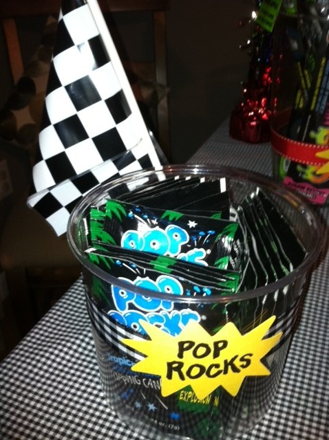 pop rocks on candy table