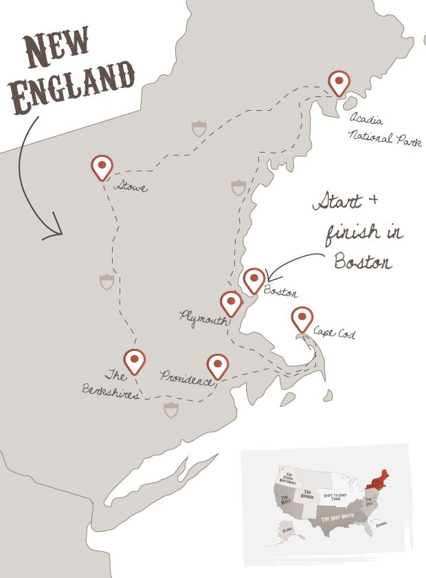 Autumn in New England - The American Road Trip Company