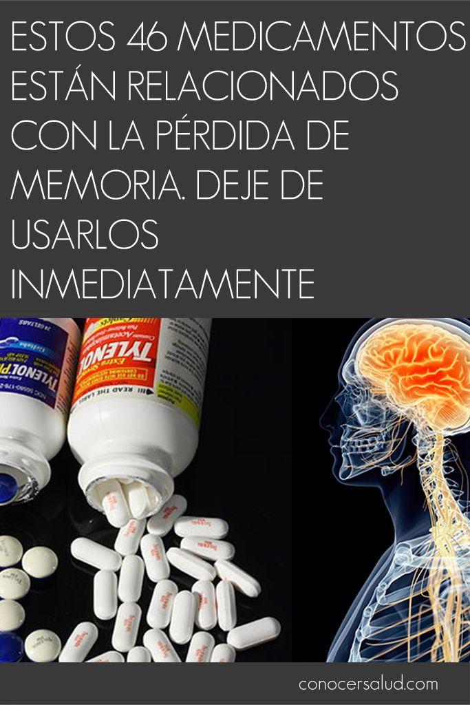 Estos 46 medicamentos están relacionados con la pérdida de memoria. Deje de usarlos inmediatamente #salud