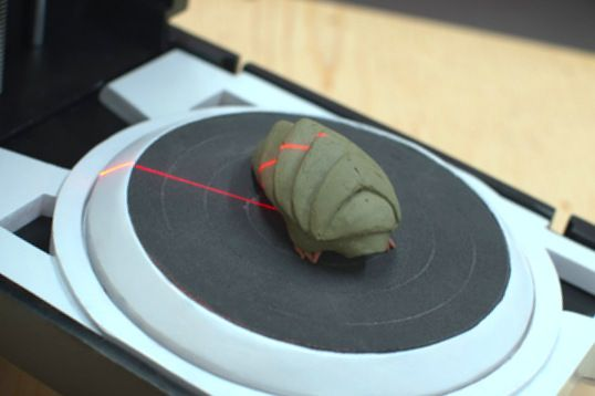 Scanner 3D, lo que hacía falta en juguetes futuristas
