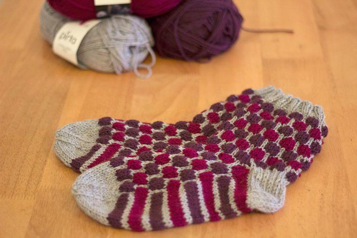 Blister check socks / Kuplaneulesukat