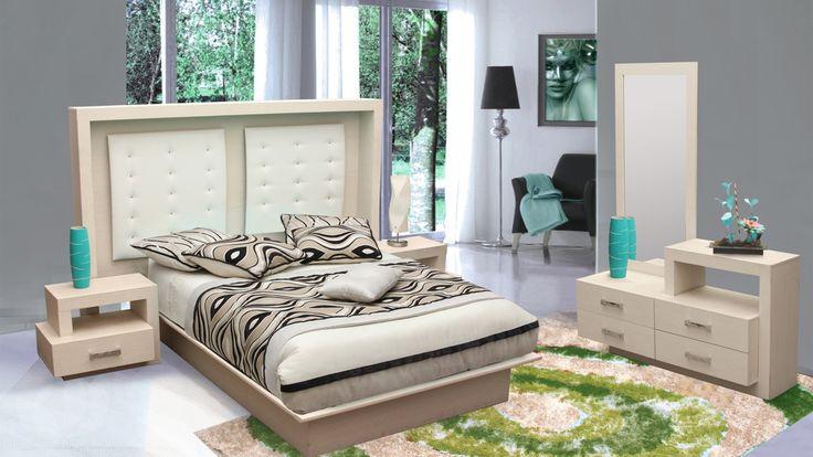 M s de 25 ideas incre bles sobre recamaras muebles for Muebles troncoso salas