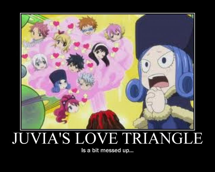 Nothing against Juvia, I love her but her and Gray are just unimaginable to me