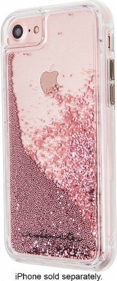Case-Mate - Naked Tough Waterfall Case for Apple® iPhone® 7 - Rose Gold - Front…