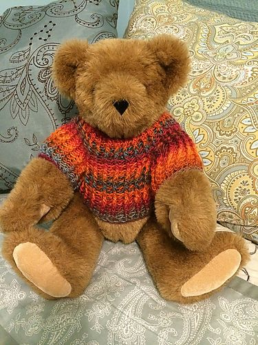 Build A Bear Sweater Pattern To Knit Ladies Sweater Patterns