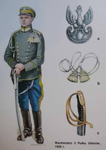 1920 Polish Army uhlan uniform