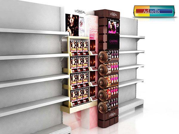 Loreal Chocolate Shelf in Shelf on Behance