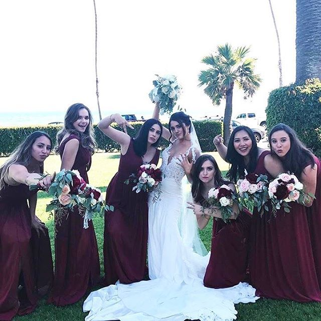 Raise Your Hand If Your Bridesmaids Are The Most Fun These
