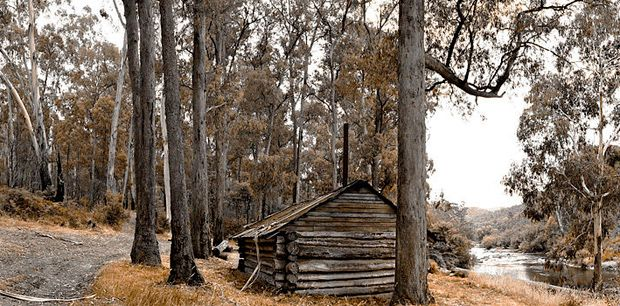 High country huts - Australian Geographic kennedys Hut East Gippsland Vic