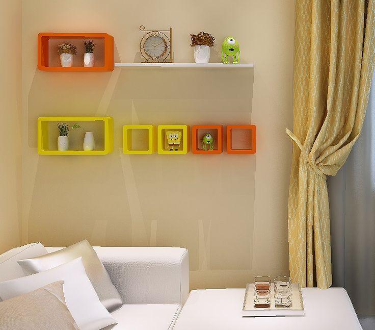 Las 25 mejores ideas sobre estantes de pared flotante en for Decoracion de estanterias
