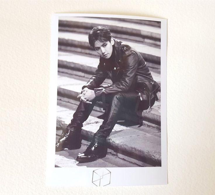 EXO ALBUM PICTORIAL OFFICIAL GOODS EXODUS PHOTO POLAROID - SEHUN (NeW)