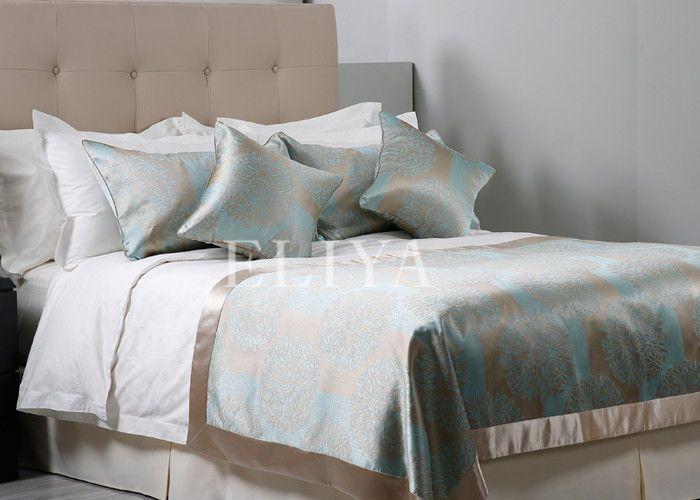 Porcellana Biancheria da letto bianca dell
