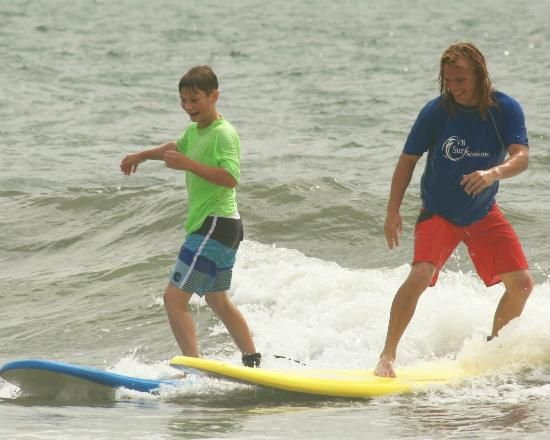 """VB Surf Sessions - """"Virginia's #1 Surf School"""" - We're a professional Surf School, offering the best in: Surfing Lessons, Surf Camps, Stand Up Paddleboard Tours & Board Rentals to people of all ages. 1st Class Real Estate"""