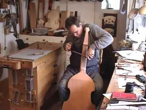 Making a Viola da gamba. only hand tools