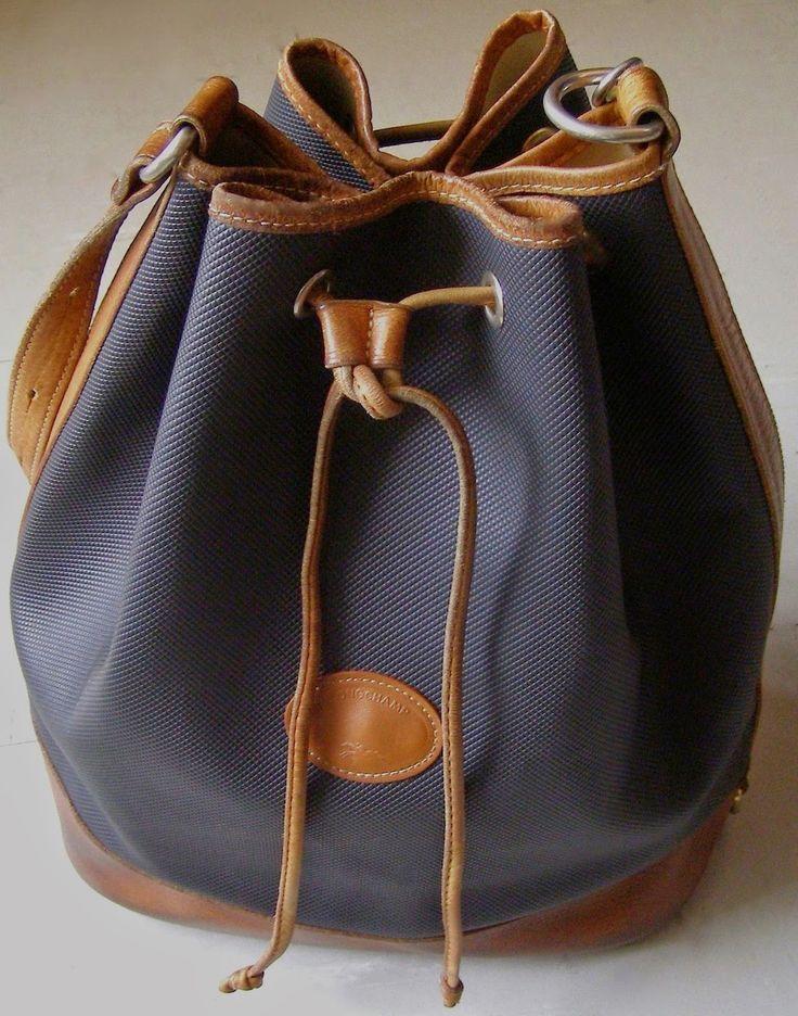 buy celine purse - LONGCHAMP - Bucket Longchamp Vintage 80\u0026#39;s bag / bag Longchamp ...