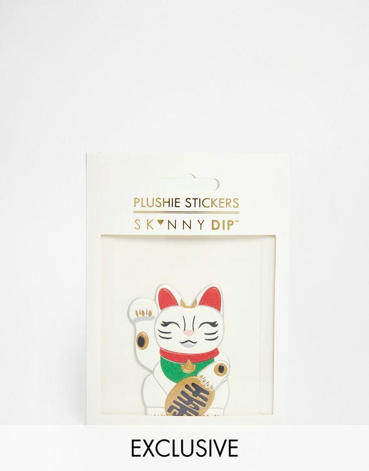 Skinnydip+Cat+Sticker