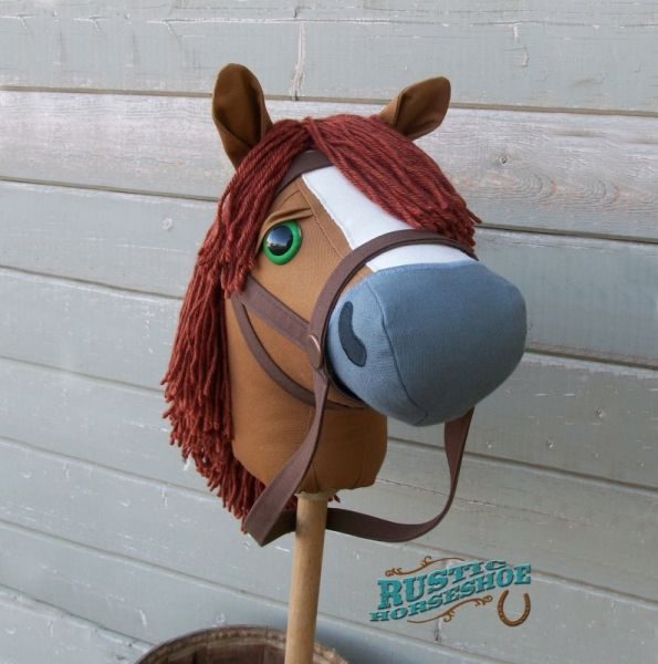 Mustang Collection Stick Horse by Rustic Horseshoe - Allsewingpatterns.net