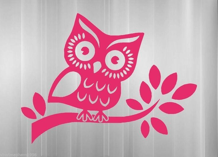 Best Car Stickers Images On Pinterest Car Decals Jdm - Owl custom vinyl decals for car