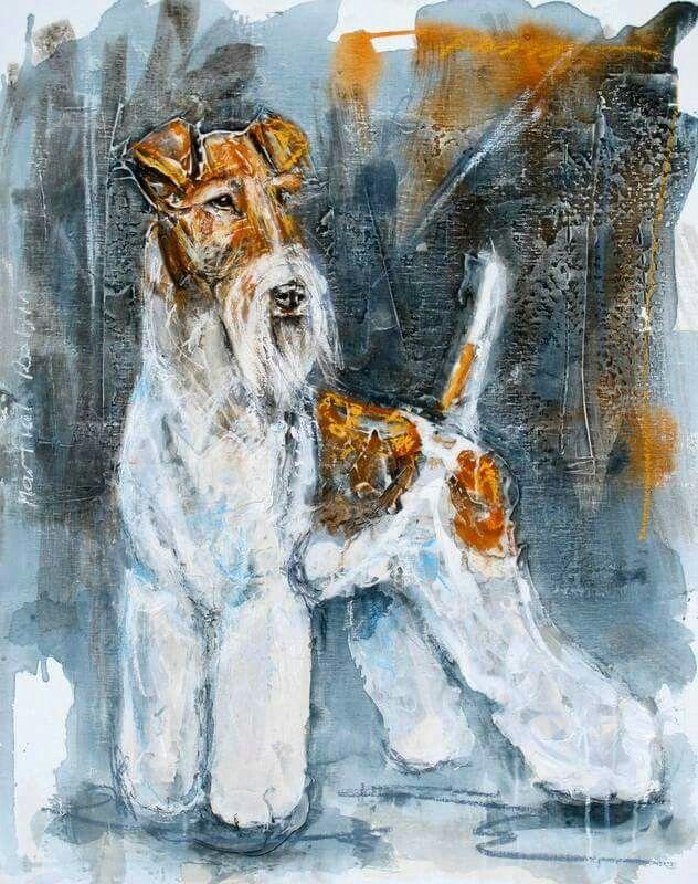3961 besten Wire-haired fox terriers rule absolutely. Bilder auf ...