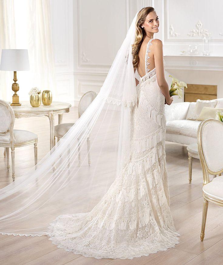50 best Bridal Gowns images on Pinterest | Wedding frocks, Wedding ...