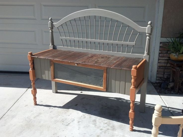 Outback Sideboard. We used parts from: Headboard, daybed, trashed Cal Spa siding and barn wood for the top. A true reclaimed Sideboard