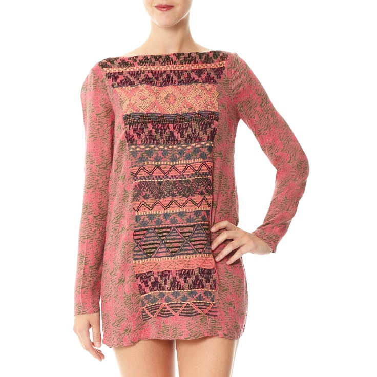 ANTIK BATIK Vitori Mini Dress pink