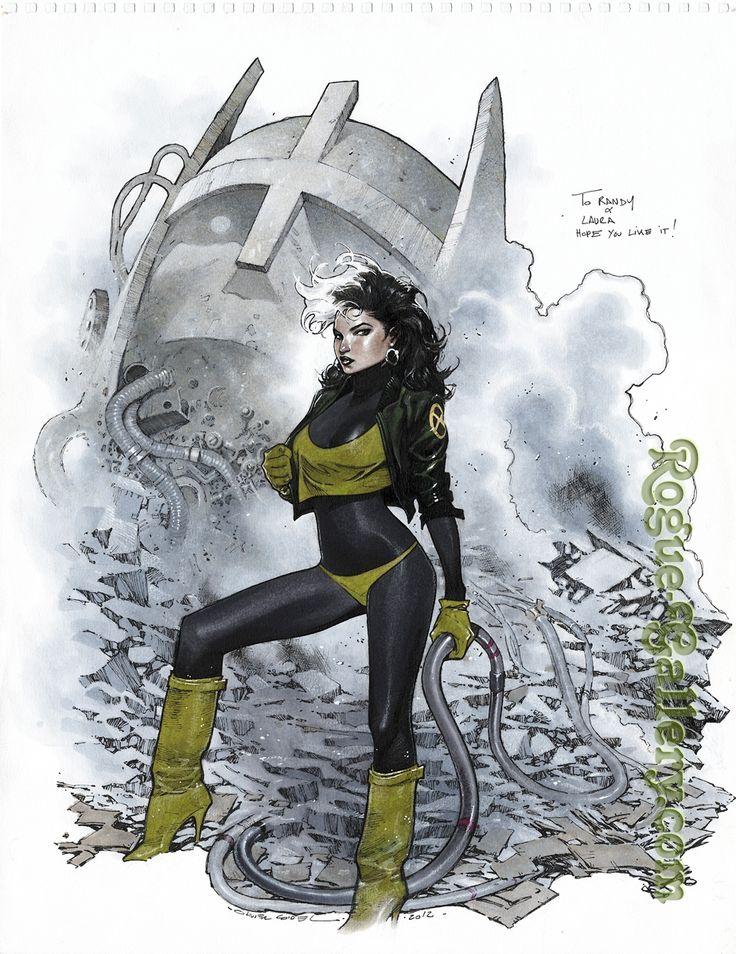 Olivier Copiel - Rogue Comic Art