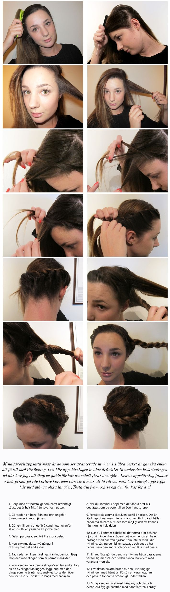 twist wrap around braid