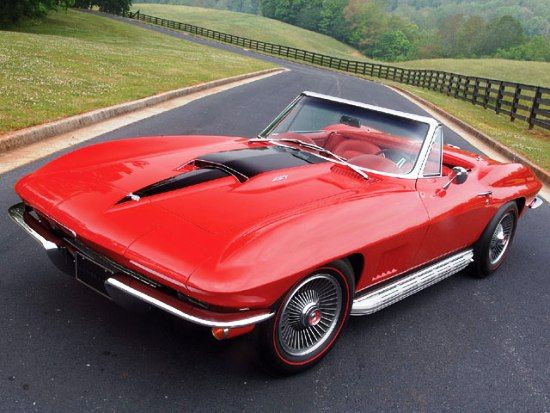 Chevy  Corvette  (1967) Conversível de Bruce  Willis