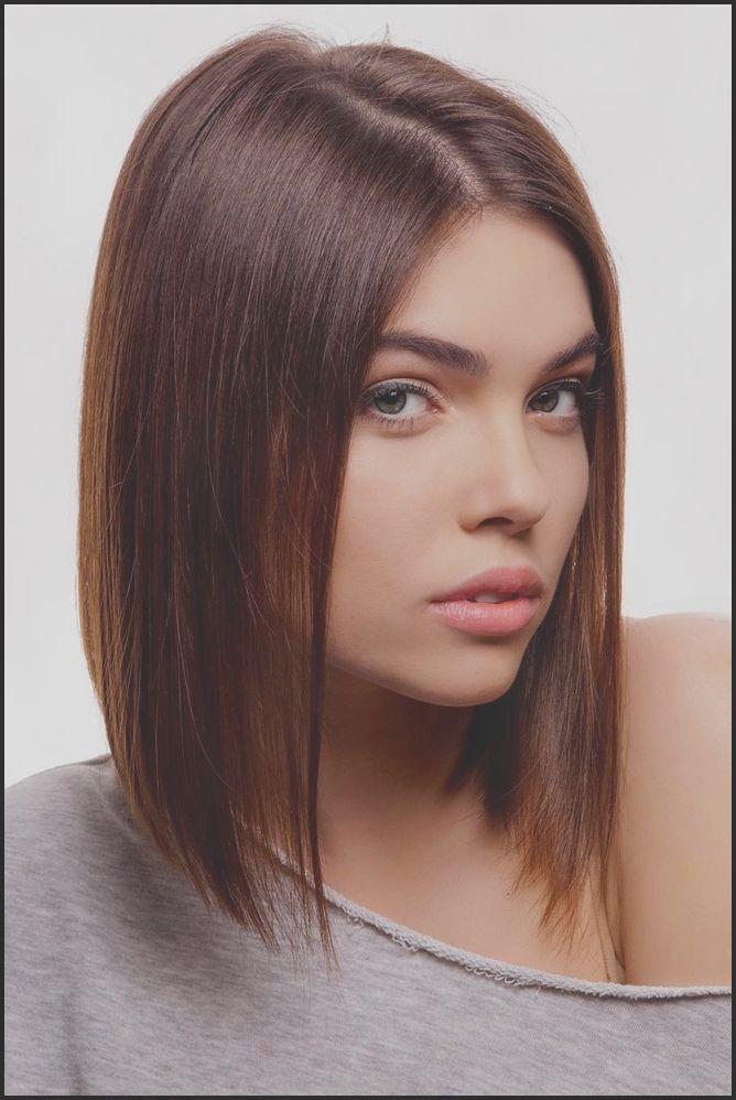 Ideen Frisur Bob Lang Braun Die Besten 25 Schulterlanges Haar