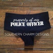 Property of My Police Officer Boy Shorts