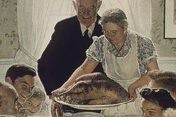 Freedom from Want, painting by Norman Rockwell from National Archives and Records Administration (http://commons.wikimedia.org/wiki/File:%22Freedom_From_Want%22_-_NARA_-_513539.tif)