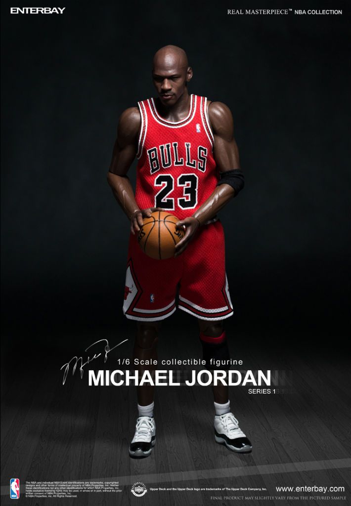 Real Masterpiece Michael Jordan - Series 01 - #23 Red Jersey Road Edition