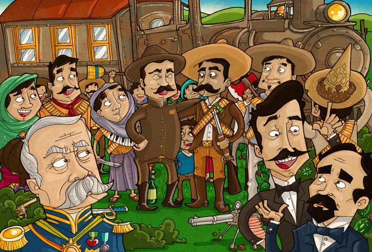 Revolucion Mexicana dibujos