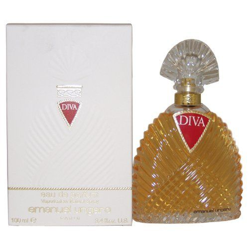 Diva By Ungaro For Women. Eau De Parfum Spray 3.3 Ounces by Emanuel Ungaro. $38.92. Packaging for this product may vary from that shown in the image above. This item is not for sale in Catalina Island. Introduced in 1983. Fragrance notes: forest notes of oakmoss, sandalwood and patchouli, with a hearty middle blend of rose, narcissus, jasmine and iris, with traces of fruity lower notes. Recommended use: romantic.Whenapplyingany fragrance please consider that the...