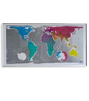 Future Maps   Huge World Map - 77 x 40 (Multi)