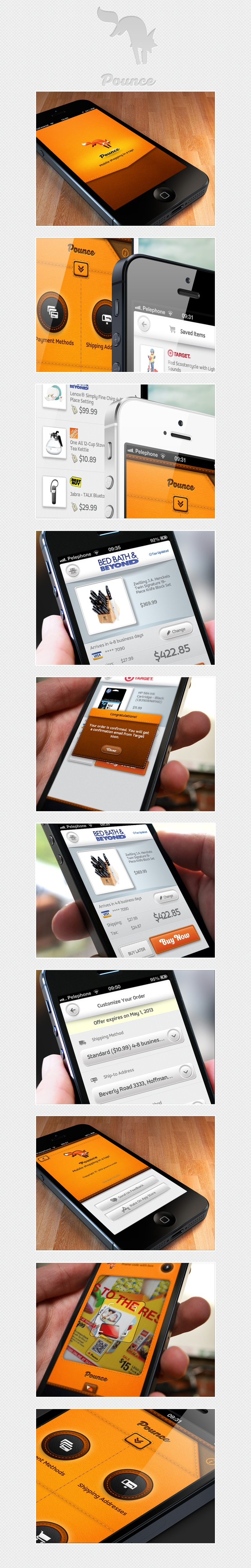 Pounce: 1-Tap shopping app