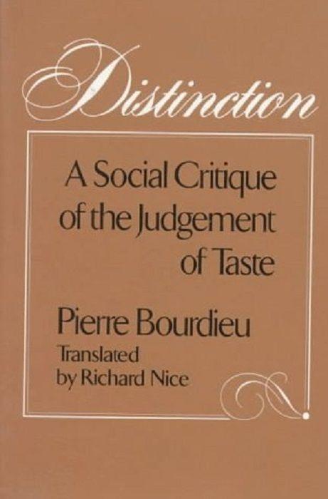 Distinction (Bourdieu)