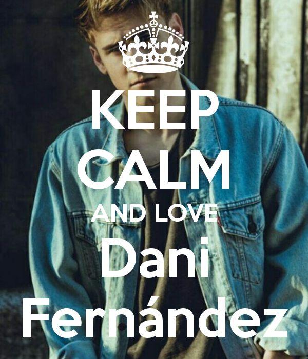 Keep calm: Dani Fernández (02)
