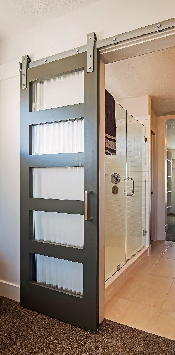 Country Meets City With This Modern Barn Door Beautiful Master