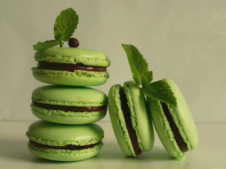 Je vous renvoie à la recette de macaron au chocolat classique ici pour réaliser ses macarons au chocolat & à la menthe poivrée, appelés » After Eight «. Les changements …