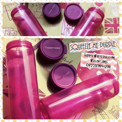 Promo Tupperware Squeezeme Purple