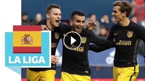 CA Osasuna vs Atletico Madrid 0:3 / Gameiro trifft eiskalt: Auch wenn Griezmann leer ausgeht, Atletico Madrid ist wieder in der Spur: CA…