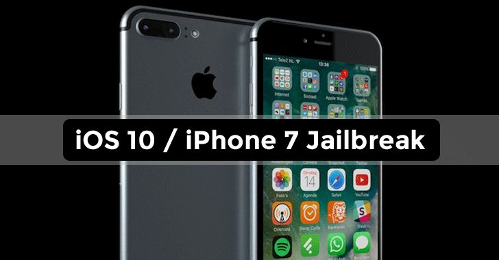 IPhone 7/ iOS 10 has been jailbreaked within 24 hours