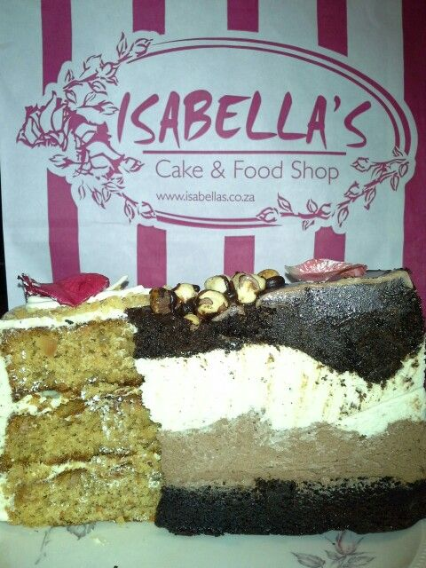 Isabella's Greenlyn Centre Pretoria # South Africa for the best macadamian carrot cake,  and double chocolate mouse cake, devine!