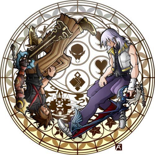 Terra & Riku (Kingdom Hearts)