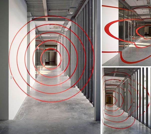 17 best images about anamorphic illusions on pinterest for Geometric illusion art