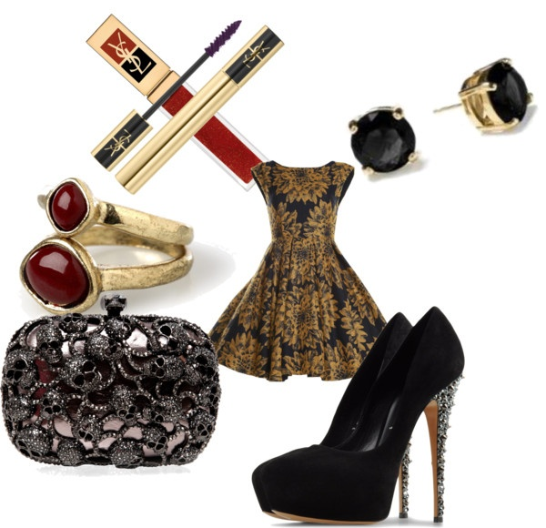 """""""Golden Baby"""" by thugboat on Polyvore"""