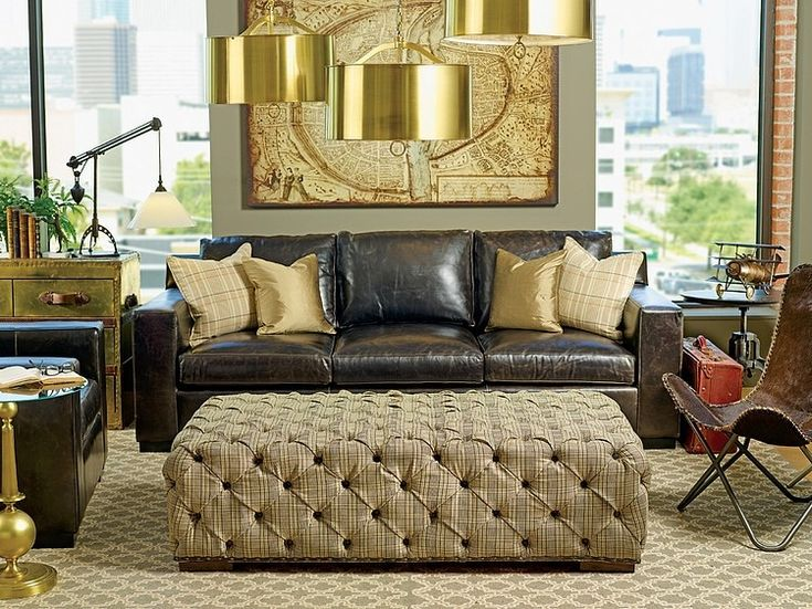 Black and gold, Dad's office color scheme? Use of smaller space. Fashion Interiors by High Fashion Home